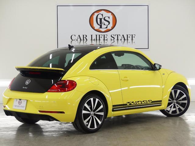 フォルクスワーゲン VW ザ・ビートル レーサー国内100台限定・純正ナビ・バックカメラ・1オナ禁煙