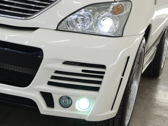 トヨタ ハリアー 350G LパックアルカンタラプライムV・MZスピードエアロ