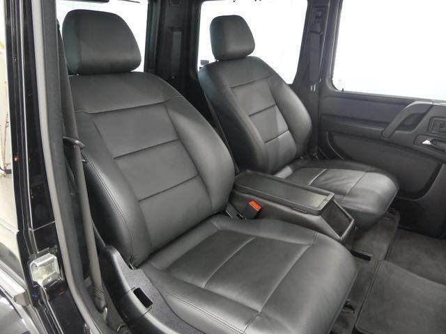 G55 AMGロング 後席セパレートシート ディーラー車(2枚目)