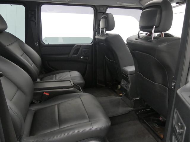 G55 AMGロング 後席セパレートシート ディーラー車(3枚目)