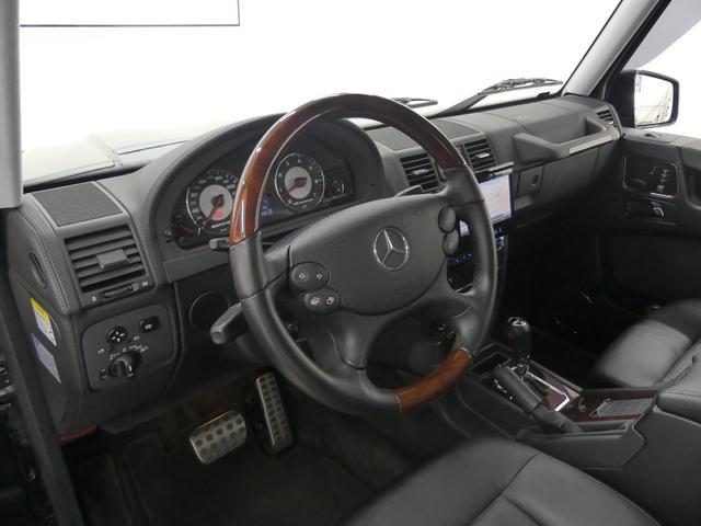G55 AMGロング 後席セパレートシート ディーラー車(6枚目)