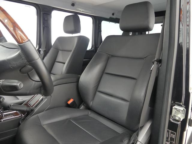 G55 AMGロング 後席セパレートシート ディーラー車(10枚目)