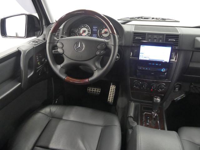 G55 AMGロング 後席セパレートシート ディーラー車(13枚目)