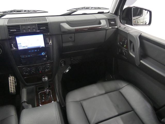 G55 AMGロング 後席セパレートシート ディーラー車(14枚目)