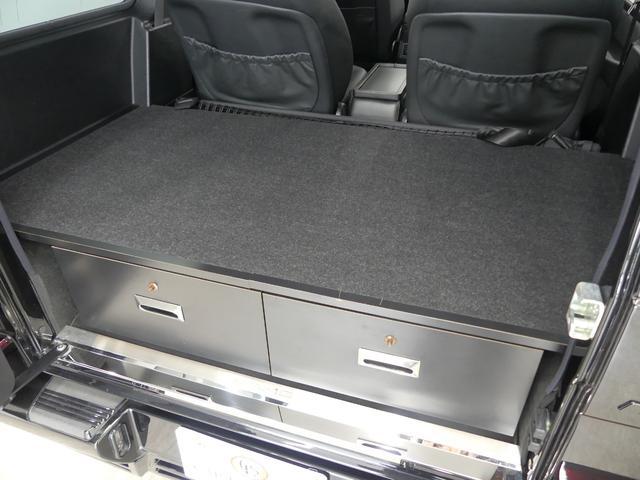 G55 AMGロング 後席セパレートシート ディーラー車(16枚目)