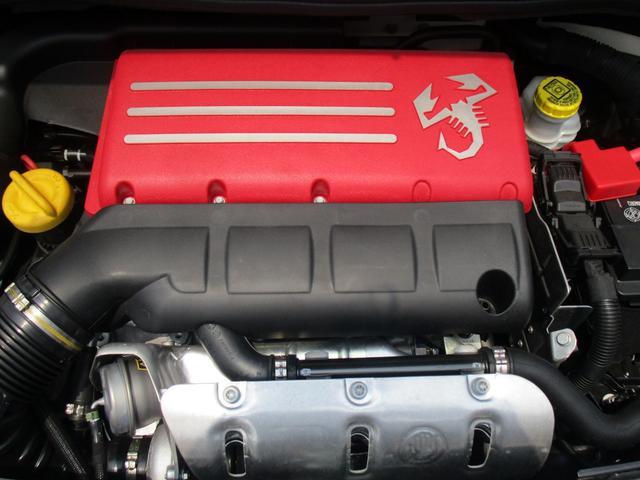 アバルト アバルト アバルト595 ベースグレード 新車保証継承 自社管理デモカー ETC