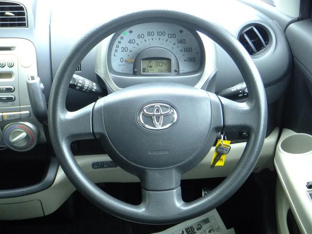 トヨタ パッソ 1.3G CDオーディオ キーレス
