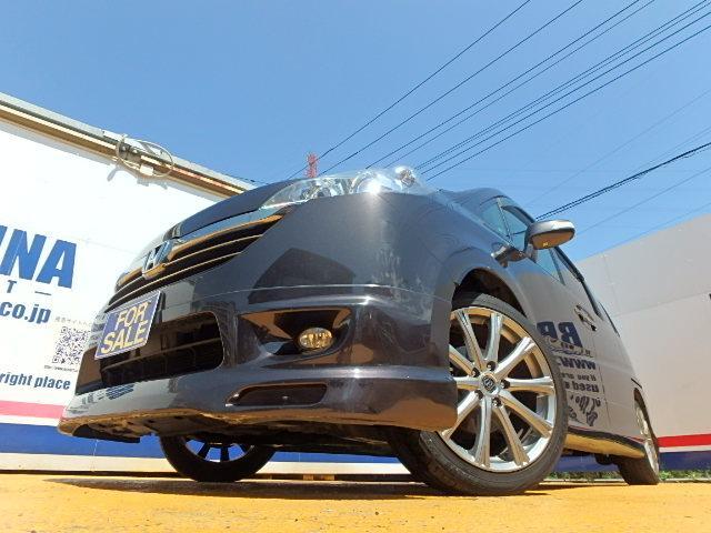 ホンダ ステップワゴン 24Z 無限フルエアロ両側パワスラBカメ付HDDナビETC