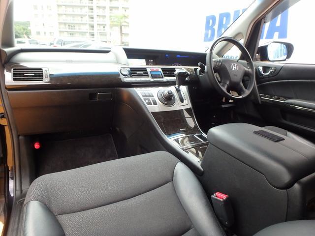 ホンダ エリシオンプレステージ S後期型Bカメ付HDDナビ両側パワスラアルパイン後席モニター
