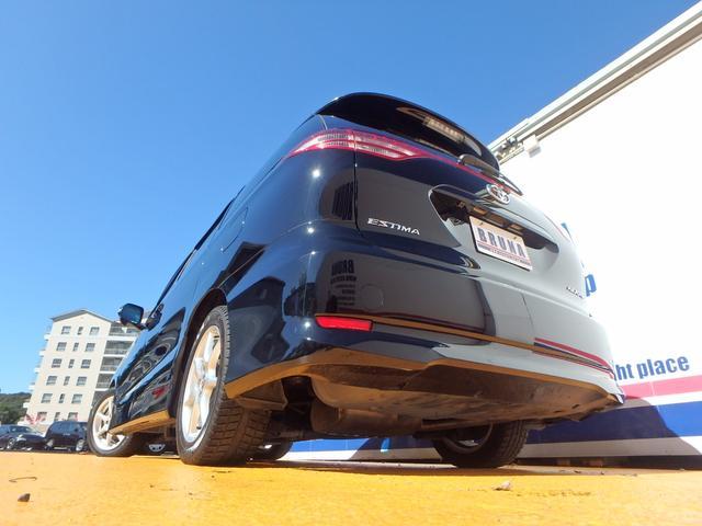 トヨタ エスティマ アエラス 後期仕様パワスラSDナビDVD再生可ETC禁煙車
