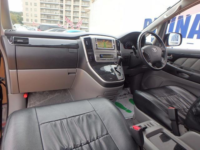 トヨタ アルファードV MS後期型ヘッドレストモニター両側Pスラ禁煙車HDナビ地デジ
