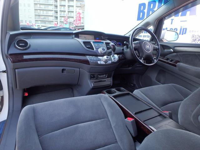 ホンダ オデッセイ L3列目電格シートHIDフォグBカメ付HDDナビETC車高調