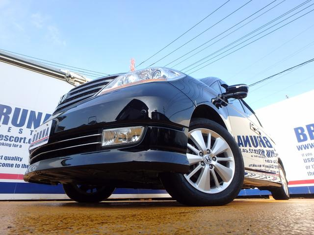 ホンダ エリシオンプレステージ S天吊モニター両側Pスラ禁煙車Bカメ付HDDナビ地デジETC