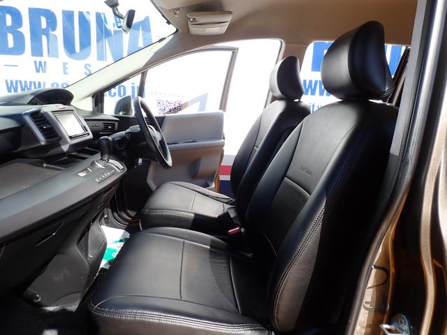 ホンダ フリード GエアロBカメ付HDDナビパワスラ黒革調シート車高調キセノン