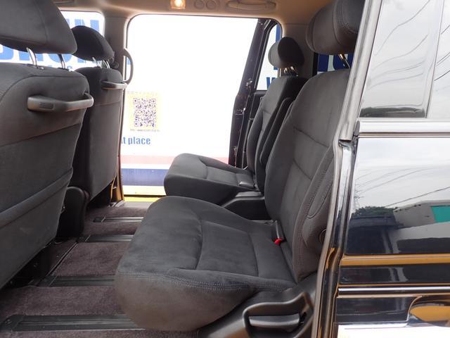 GエアロHDDナビスペシャルパッケージ 4WD 禁煙車 両側パワースライドドア 純正エアロ バックカメラ HDDナビ DVD再生可 ETC キセノン Tチェーン キャプテンシート7人乗り 後期型 実走行22000km ディーラー下取り車(21枚目)