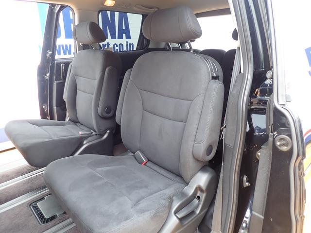 GエアロHDDナビスペシャルパッケージ 4WD 禁煙車 両側パワースライドドア 純正エアロ バックカメラ HDDナビ DVD再生可 ETC キセノン Tチェーン キャプテンシート7人乗り 後期型 実走行22000km ディーラー下取り車(22枚目)