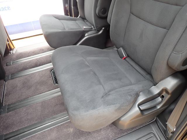 GエアロHDDナビスペシャルパッケージ 4WD 禁煙車 両側パワースライドドア 純正エアロ バックカメラ HDDナビ DVD再生可 ETC キセノン Tチェーン キャプテンシート7人乗り 後期型 実走行22000km ディーラー下取り車(25枚目)