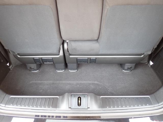 GエアロHDDナビスペシャルパッケージ 4WD 禁煙車 両側パワースライドドア 純正エアロ バックカメラ HDDナビ DVD再生可 ETC キセノン Tチェーン キャプテンシート7人乗り 後期型 実走行22000km ディーラー下取り車(42枚目)