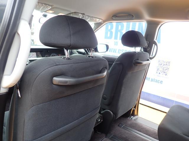 GエアロHDDナビスペシャルパッケージ 4WD 禁煙車 両側パワースライドドア 純正エアロ バックカメラ HDDナビ DVD再生可 ETC キセノン Tチェーン キャプテンシート7人乗り 後期型 実走行22000km ディーラー下取り車(44枚目)