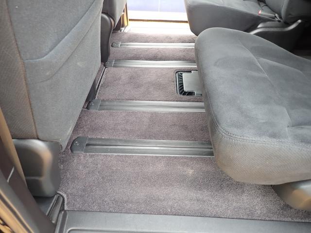 GエアロHDDナビスペシャルパッケージ 4WD 禁煙車 両側パワースライドドア 純正エアロ バックカメラ HDDナビ DVD再生可 ETC キセノン Tチェーン キャプテンシート7人乗り 後期型 実走行22000km ディーラー下取り車(45枚目)