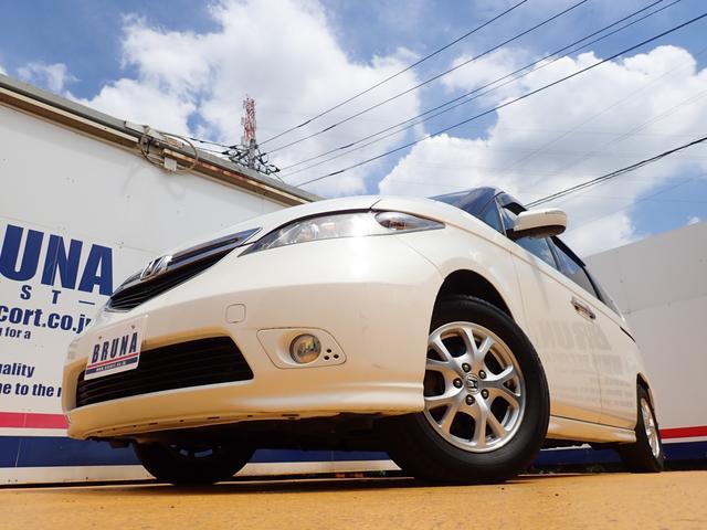 G 禁煙車 パワースライドドア 純正フリップモニター バックカメラ HDナビ DVD ETC ウッドパネル タイミングチェーン キーレス ドアバイザー キセノン 実走行43000km ディーラー下取り車(4枚目)