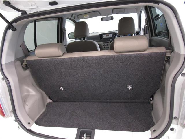 後席シートアレンジで大きな荷物も、積む事が出来ます。用途に合わせてお使い下さい。