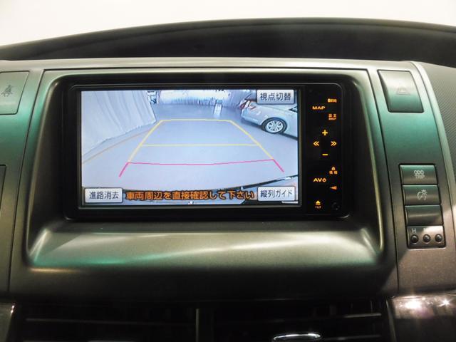 トヨタ エスティマ アエラス HDDナビ 両電動Sドア ETC コーナーセンサー