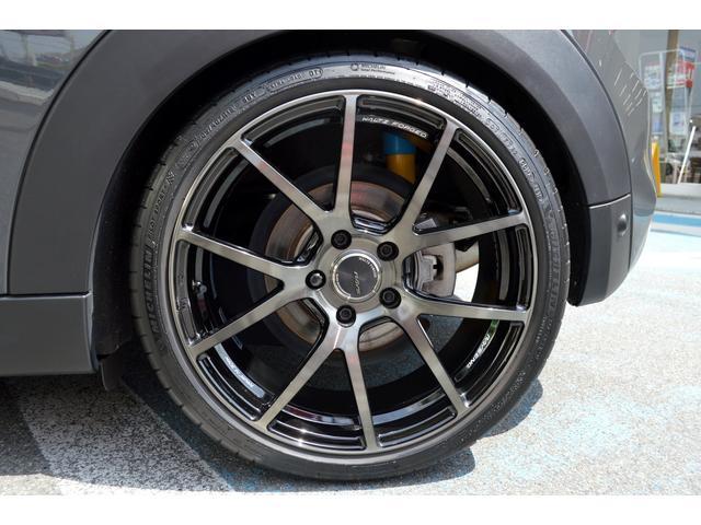 クーパーSD クーパーSD ビルシュタイン車高調 RAYS18インチアルミ LEDヘッド 純正HDDナビ バックカメラ パドルシフト アイドルストップ アクティブクルーズコントロール インテリジェントセーフティ(45枚目)