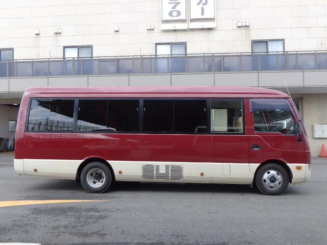 三菱ふそう ローザ 29人乗り 自動ドア ナビ Bカメラ