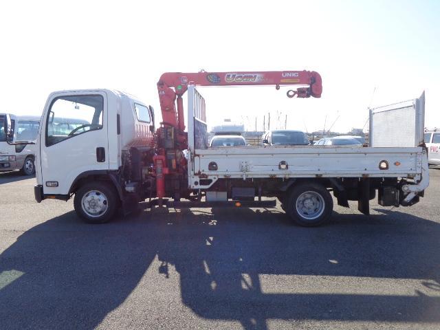 いすゞ エルフトラック 3段ユニック ラジコン PG 積載2t 荷台332X208