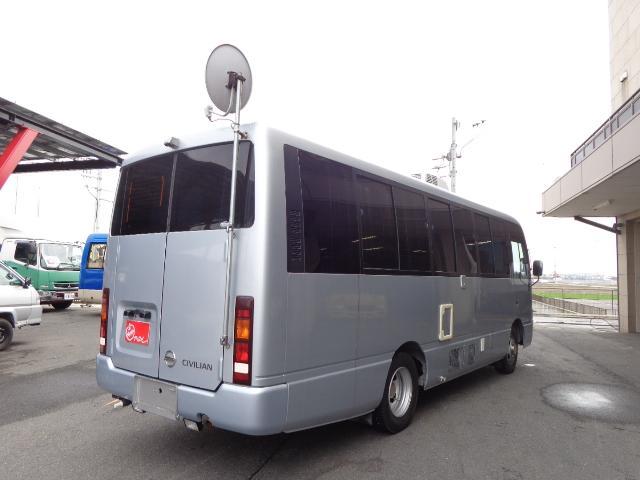 日産 シビリアンバス キャンピング 8人乗り R観音ドア 自動ドア