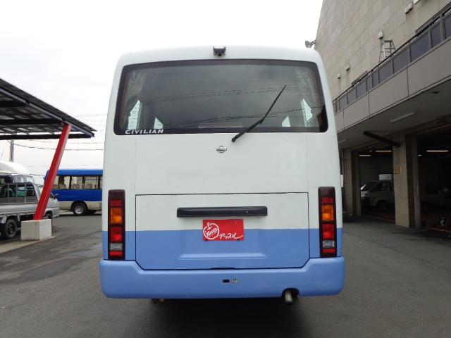 日産 シビリアンバス 4WD 29人乗り 自動ドア
