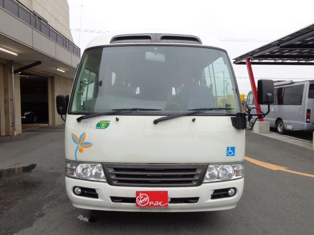 日野 リエッセII 車いす移動車