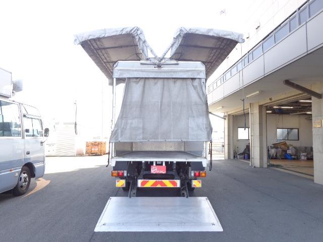 3.5トンカスタム 幌ウイング パワーゲート(6枚目)
