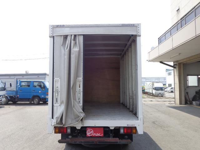 2トン カーテン車(7枚目)
