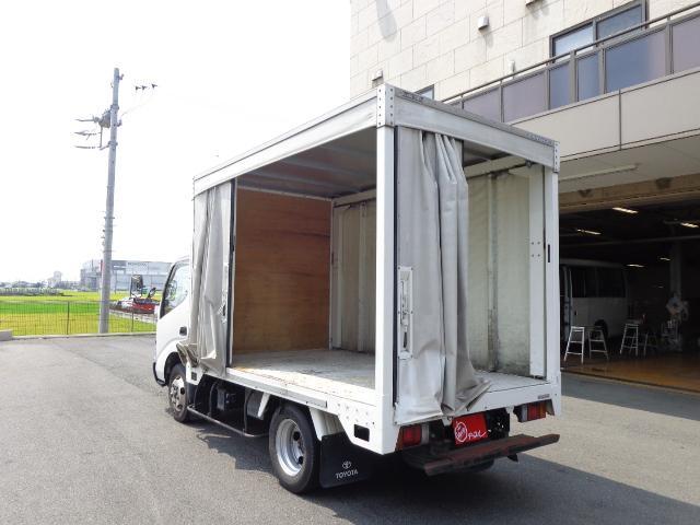 2トン カーテン車(10枚目)