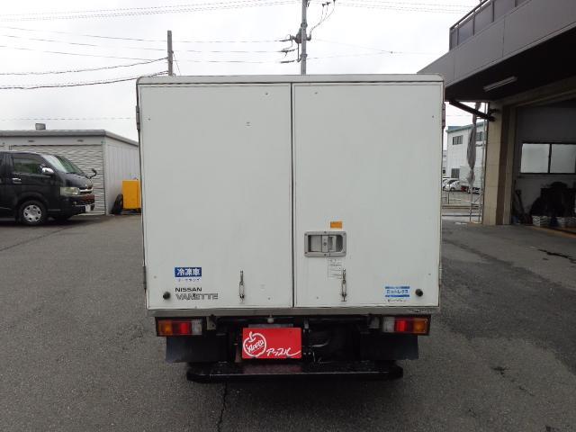 冷蔵冷凍車-25度設定 積載850kg(4枚目)