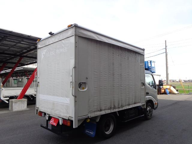 積載2トン カーテン車(2枚目)