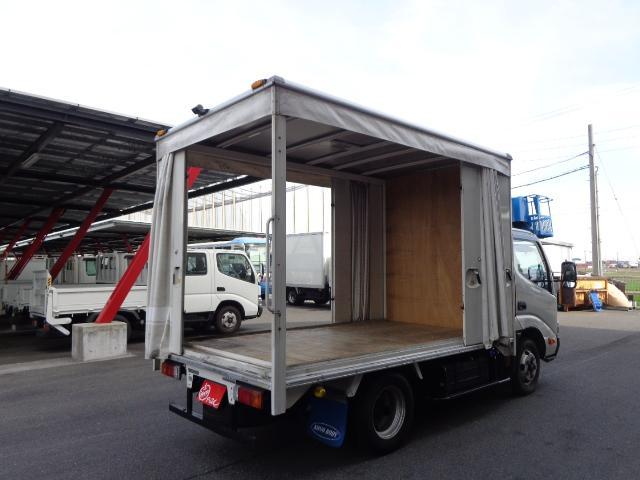 積載2トン カーテン車(7枚目)