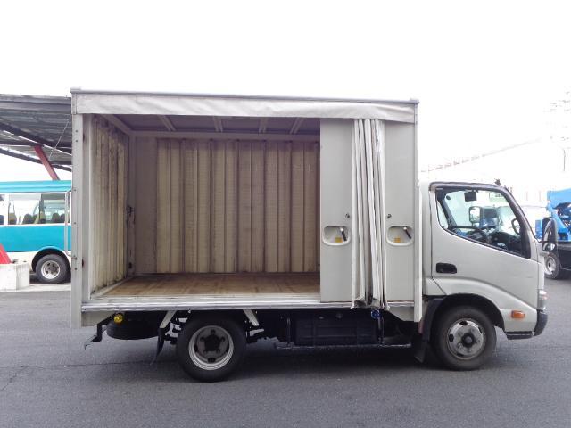 積載2トン カーテン車(9枚目)