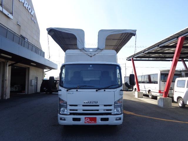 電動幌ウイング 3トンワイド超ロング(3枚目)