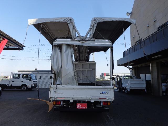 電動幌ウイング 3トンワイド超ロング(4枚目)