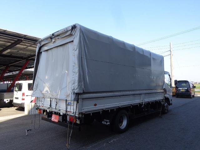 電動幌ウイング 3トンワイド超ロング(9枚目)