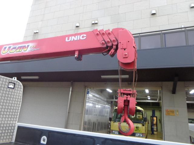 ユニック4段クレーン 2.93t吊 ラジコン