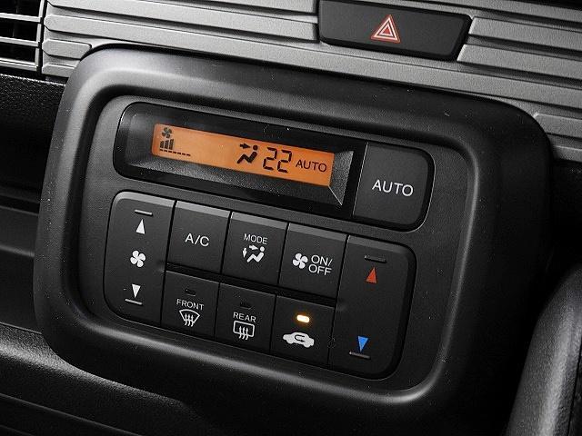 バンタイプの軽でありながら、自動で快適な室内温度を保ってくれるオートエアコンを完備しています。