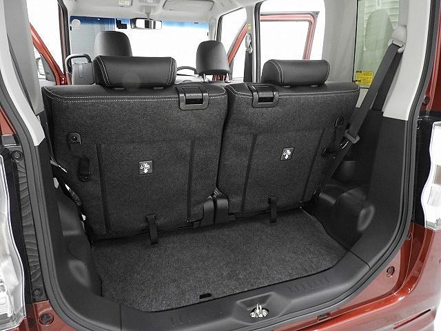 セカンドシートを使用していても、ちょっとしたお買い物程度なら十分にお載せ頂けるスペースがございます。