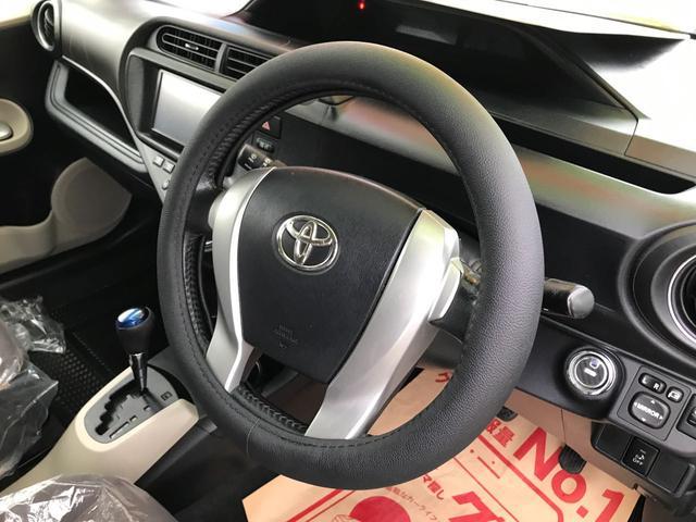 「トヨタ」「アクア」「コンパクトカー」「沖縄県」の中古車23