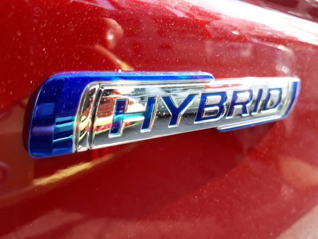 HYBRIDになってさらに運転しやすくなりました