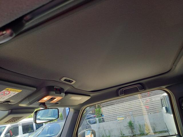 天井のスカイフィールトップは閉めるとこんな感じになります!!