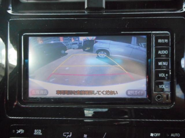 バックカメラ搭載で駐車も安心